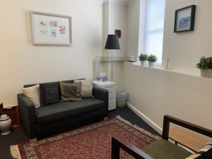 Sutherland Counsellor Consulting Room